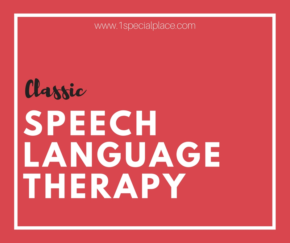 Speech And Language Therapy - Classic