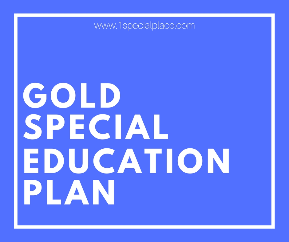 gold special ed plan