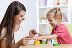 Therapy for a young child