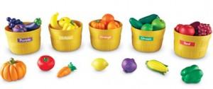 vegetable sorting - color
