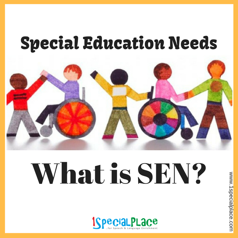 Why Does Special Education Have To Be >> What Is Special Education Needs Sen 1specialplace